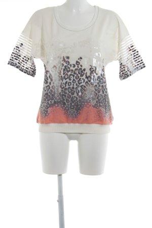 Sportalm Print-Shirt abstraktes Muster Casual-Look