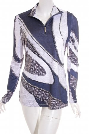 Sportalm Shirt weiß-dunkelblau Casual-Look