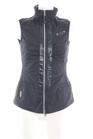 Sportalm Sports Vests black-blue wet-look