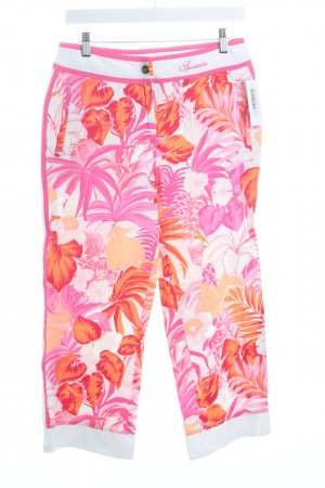 Sportalm Stoffhose florales Muster Casual-Look