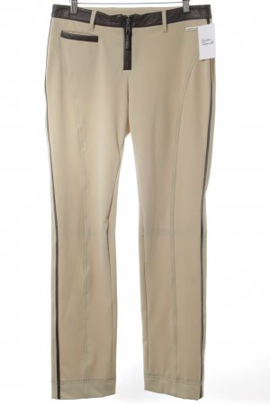 Sportalm Jersey Pants oatmeal-dark brown casual look