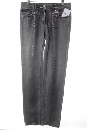 Sportalm Straight Leg Jeans grey-silver-colored casual look