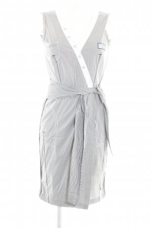 Sportalm Stretch Dress black-white striped pattern casual look