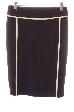 Sportalm Stretchrock schwarz-goldfarben Elegant