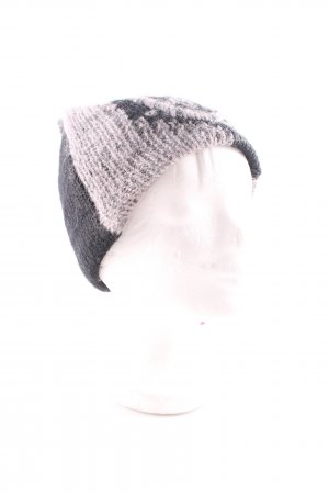 Sportalm Sombrero de punto negro-rosa look casual