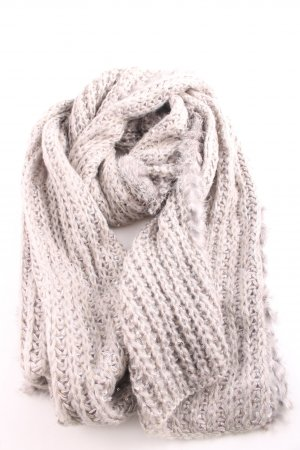 Sportalm Knitted Scarf natural white-light grey casual look