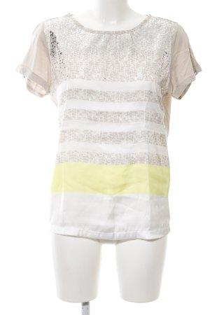 Sportalm T-Shirt Streifenmuster Casual-Look