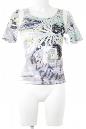 Sportalm T-Shirt abstrakter Druck extravaganter Stil
