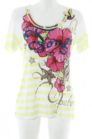 Sportalm T-Shirt florales Muster Casual-Look