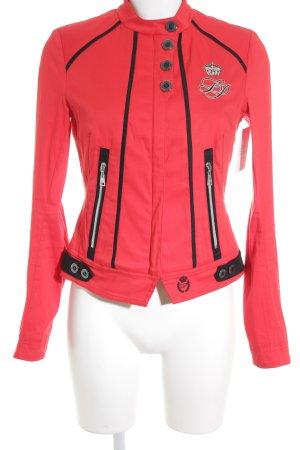 Sportalm Übergangsjacke rot-schwarz Casual-Look