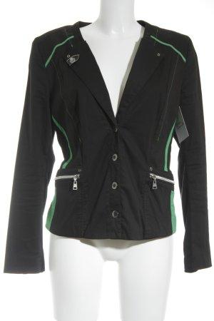 Sportalm Übergangsjacke schwarz-grün schlichter Stil