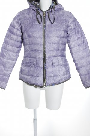 Sportalm Reversible Jacket mauve-sand brown mixed pattern athletic style