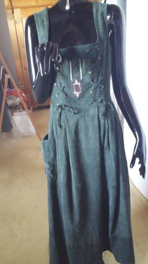 SPORTALM Wildledertrachtenkleid, Gr.40,  dunkelgrün
