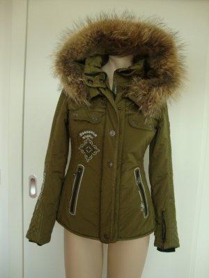 Sportam Jacke mit echtem Pelz Gr. 34 sehr schön!!!