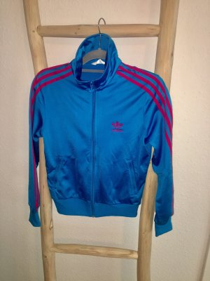Adidas Leisure suit pink-neon blue