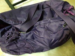 Bolsa de gimnasio violeta oscuro-violeta azulado