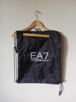 Sportbeutel EA7 Armani Turnbeutel mit Zugkordel BLACK Nero