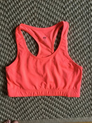 Hennes Collection by H&M Sports Tank steel blue-salmon