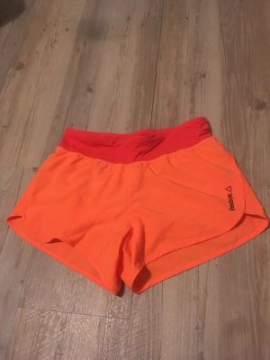 Reebok Pantalone da ginnastica arancio neon-rosso