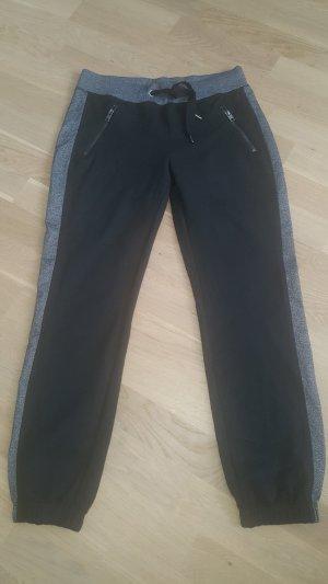 H&M Sport Sportbroek zwart-grijs
