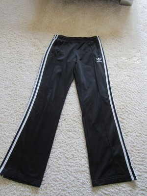 Adidas Trackies black-white polyester