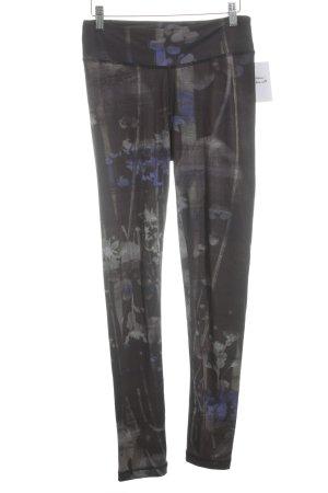 pantalonera estampado con diseño abstracto estilo deportivo
