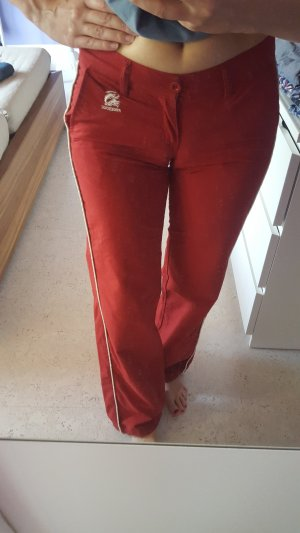 Freesoul Trackies white-red