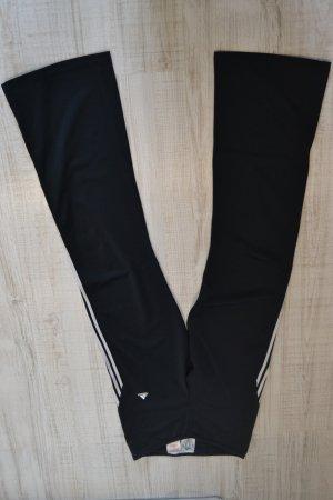 Sporthose Adidas schwarz-weiß Gr.34/36