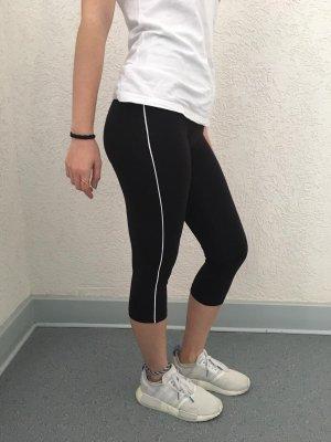 Leggings negro-blanco