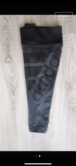 Adidas Pantalone a 3/4 antracite-nero