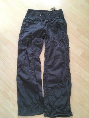 H&M pantalonera gris pizarra