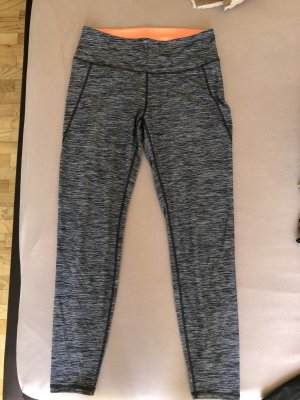 H&M Pantalon de sport gris-orange