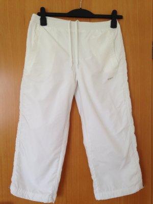 Pantalon de sport blanc polyester