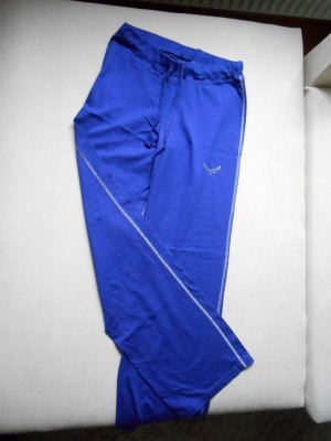 Sporthose Jazzpants Zumba Yoga Trigema Kobaldblau Gr.S Neu