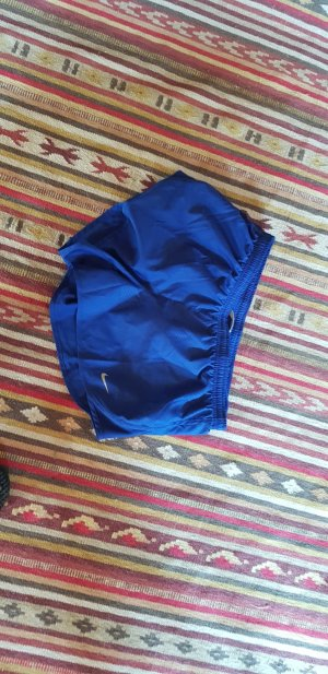 Nike Sportshort blauw Gemengd weefsel