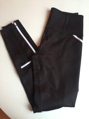 Puma Pantalone da ginnastica nero-bianco