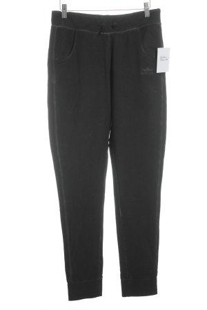 Pantalon de sport noir-gris style athlétique