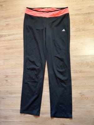 Sporthose schwarz rosa Adidas