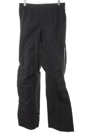 Sporthose schwarz-silberfarben sportlicher Stil