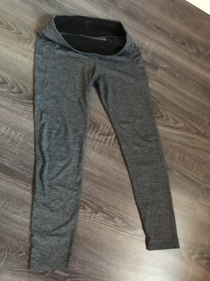 Sporthose sportleggings grau meliert