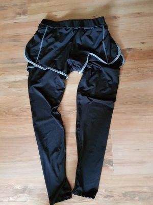Pantalon de sport noir-gris clair