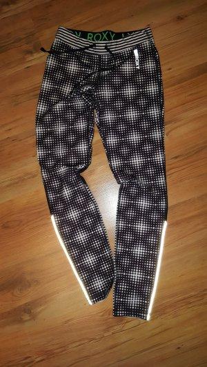 Roxy Pantalon de sport blanc-noir