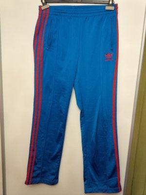 Sporthose Trainingshose Adidas Gr. 36 blau rot Sporthose