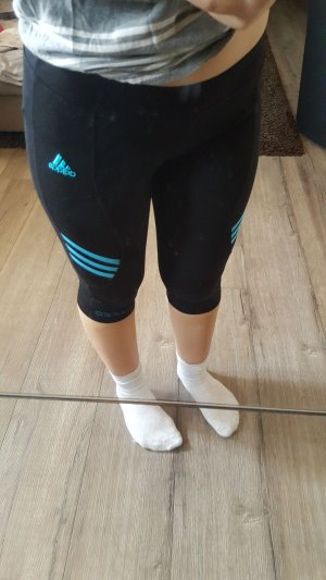 Sporthose von Adidas in schwarz\blau
