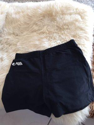 Short de sport noir-blanc
