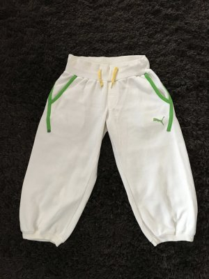 Sporthose von Puma weiß