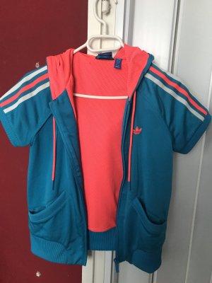 Adidas Originals Giacca sport blu neon