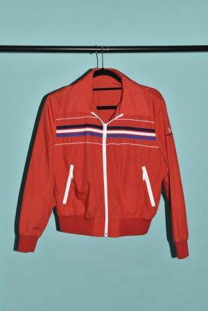 Sportjacke Blouson Retro original Vintage 70ies 60ies rot M 38/40