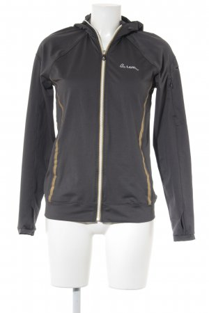 Sports Jacket dark grey-gold-colored athletic style