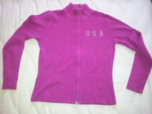 Sportjacke Jacke Intrama Italy Strass USA Gr. S